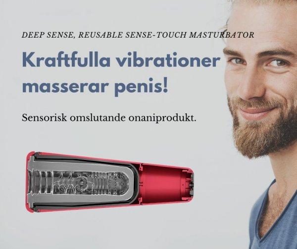 Bra sexleksak för män - Deep Sense