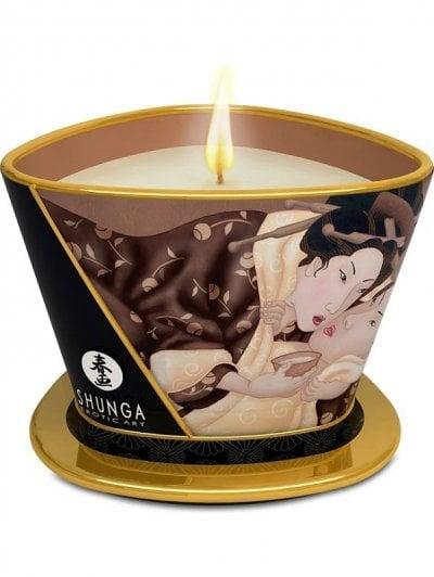 Shunga massageljus för sköna massagestunder.