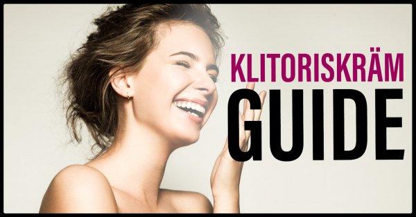 Guide klitoriskräm.