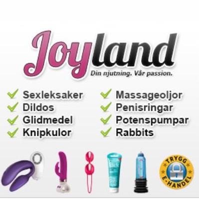 Storsäljande sexleksaker hos Joyland.
