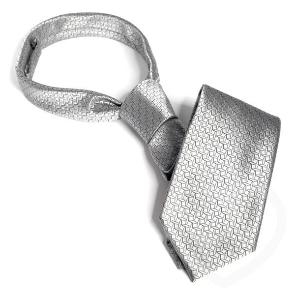 Grå slips från Fifty Shades of Grey.