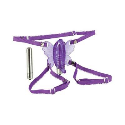 Köp Butterfly - vibrator med sele - till billigast pris.