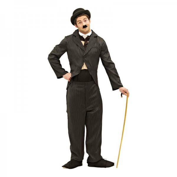 Klä ut den blivande brudgummen till en Charlie Chaplin.