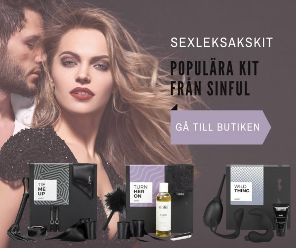 Sinful sexleksakskit.