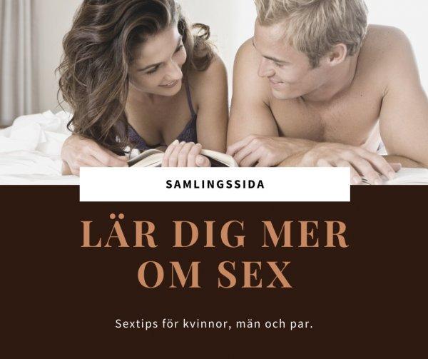 Lär dig mer om sex, sexuell förmåga, lust och njutning.