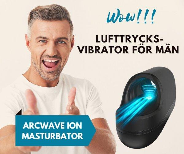 Lufttrycksvibrator för män.