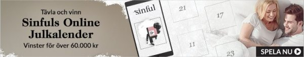 Sinfuls Oneline julkalender