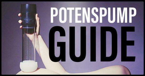 Guide potenspump