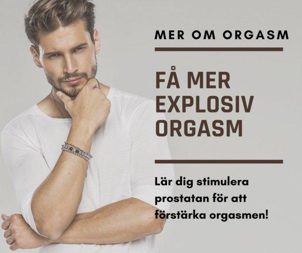 Tips vid prostatastimulans.