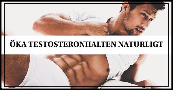 12 tips som ökar testosteronhalten helt naturligt.