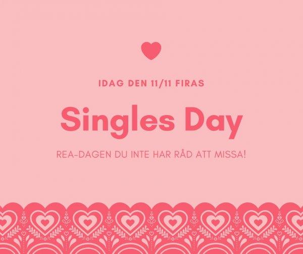 Singles Day - se sexbutikernas erbjudanden!