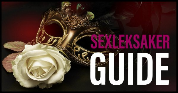 Guider som hjälper dig välja sexleksak.