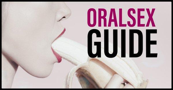 Guide oralsex för både män och kvinnor.