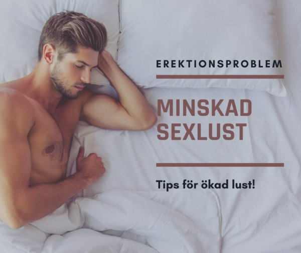 Låg sexlust.
