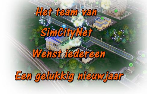 SimCityNet nieuwjaarswens