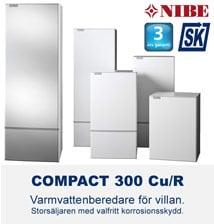 NIBE Compact 300 varmvattenberedare