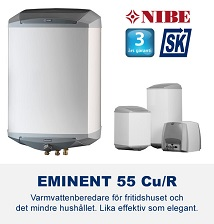 NIBE Eminent 55 varmvattenberedare