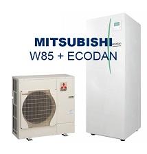W85 Luft-vattenvärmepump