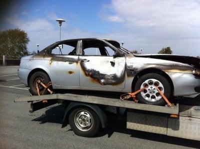Skrota bilen Göteborg, Hämtning av skrotbil i Fiskebäckskil
