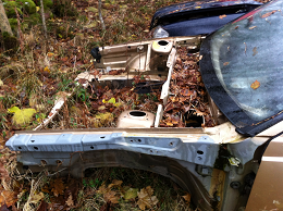 Skrota bilen innan den blir ett miljöproblem