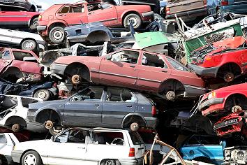 Corana virusets påverkan när man skrotar bilen