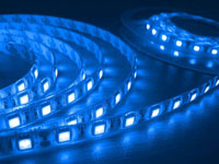LED tejp blå