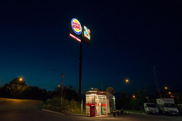 skyltar Burger King