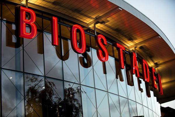 skyltar Göteborg Biostaden