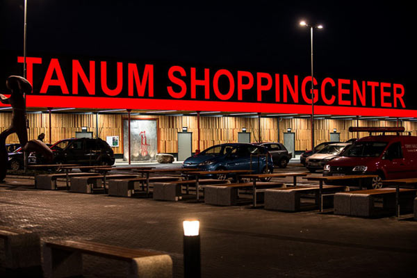 skyltar Göteborg Tanum Shoppingcenter