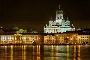 Fasadbelysning Helsinki