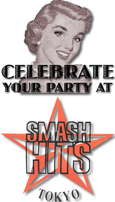 celebrate your party at smash hits!