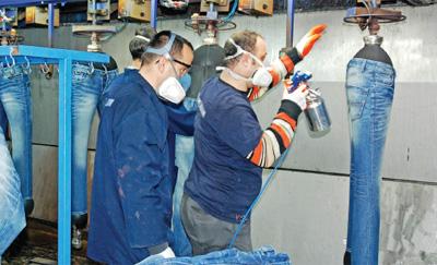 Jeanstillverkning