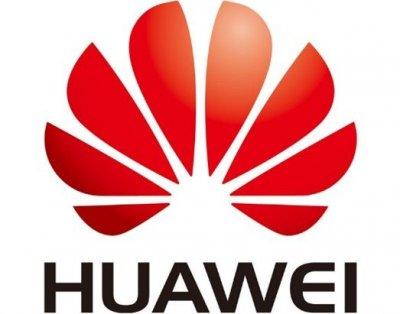 Huawei logga solceller i Täby.