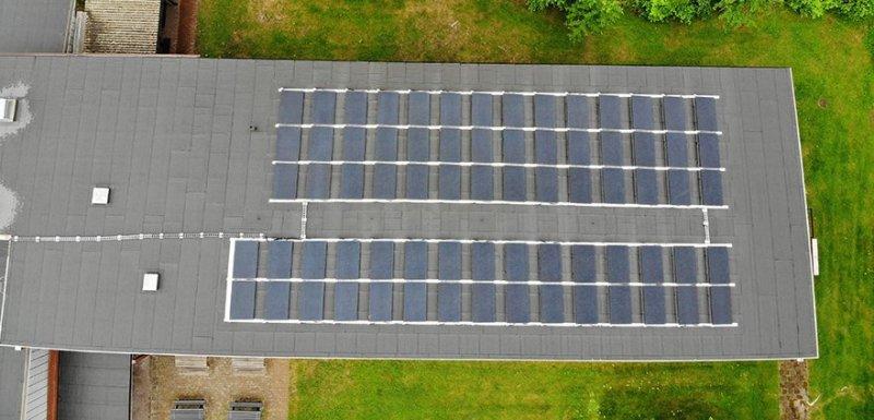 Vi hjälper dig att installera solceller för BRF.