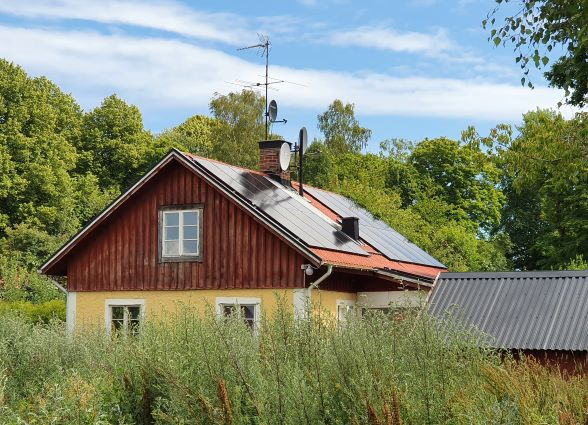 Solceller i Norrtälje, Ösmo.