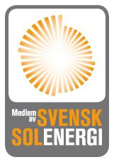 Svensk solenergis logga.