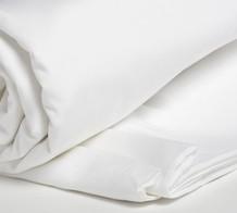 Yumeko drå-på lakan i vit ekologisk bomullsjersey ADULT