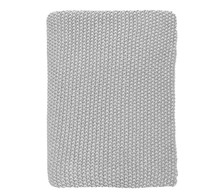 By Nord stickad filt 130x80 cm - grå