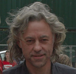 Bob Geldof on poverty, corporate social responsibility and world trade