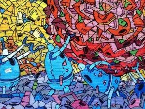 grafitti, målare