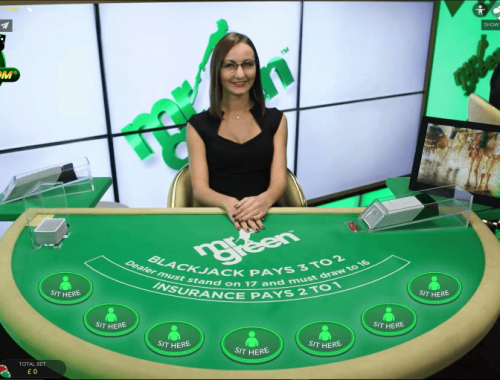 Blackjack live casino