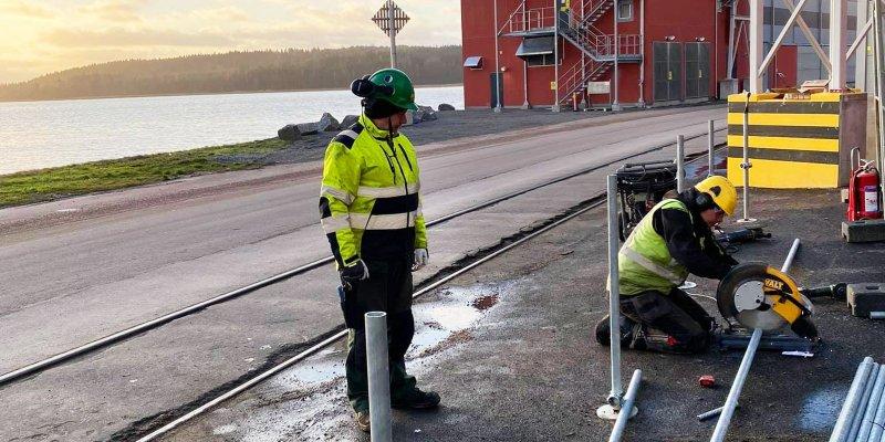 Vi sätter upp ditt stängsel i Värmland.