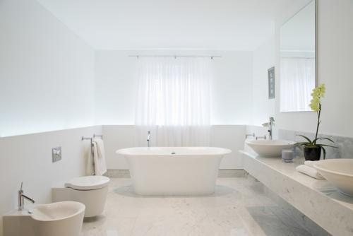 Välstädat badrum