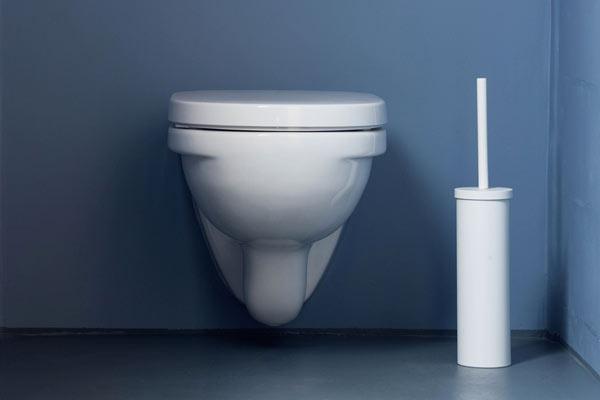 toalettborste och toalett