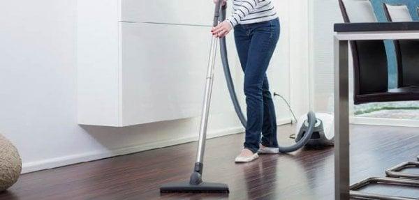 städa lägenhet
