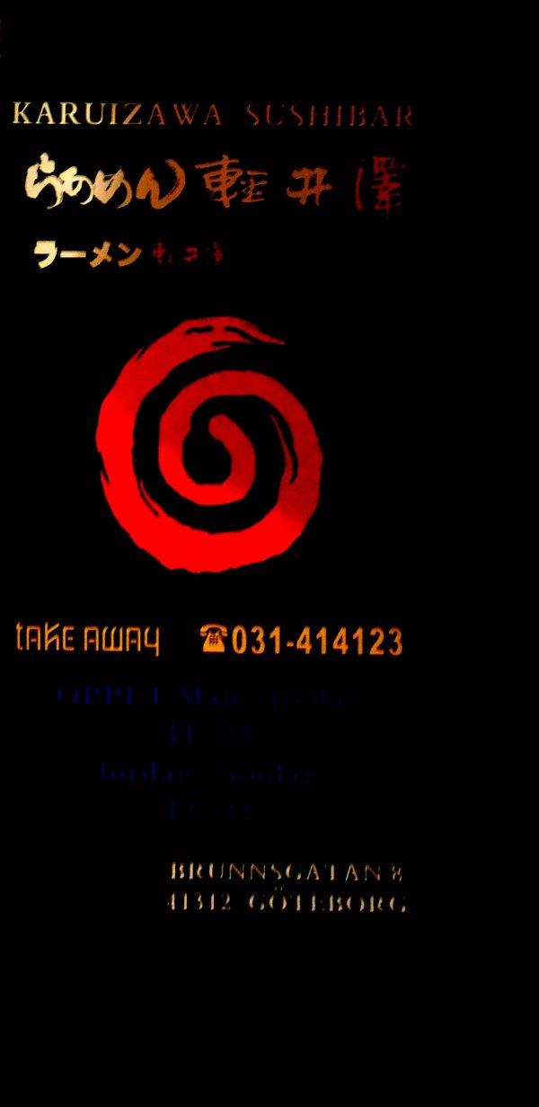 031-414 123 Sushi Take away