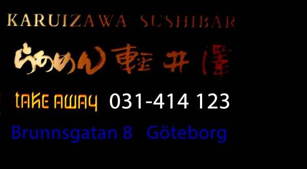 Sushi take away 031-414 123