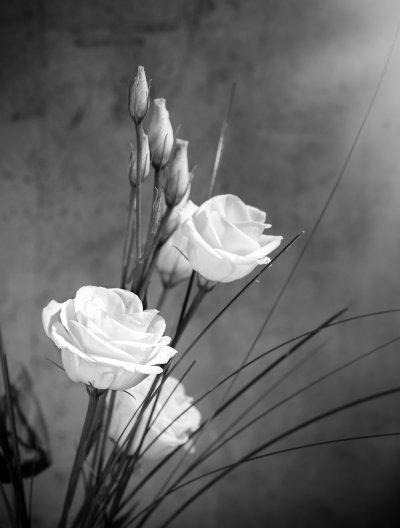 blommor dödsbo