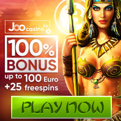 Joo Casino valkomstpaket