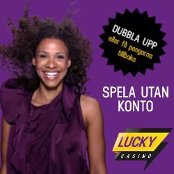 Dubbla pengarna hos LuckyCasino